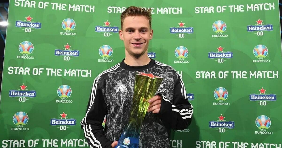 Киммих – игрок матча Германия – Венгрия. У него два отбора и 53 точных паса