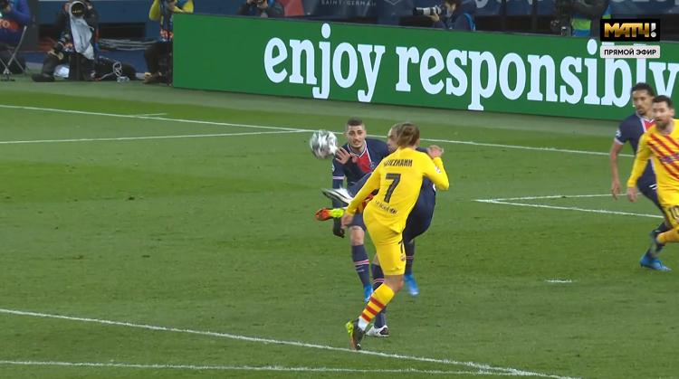 Месси не забил «ПСЖ» с пенальти. Навас отбил мяч ногами в перекладину