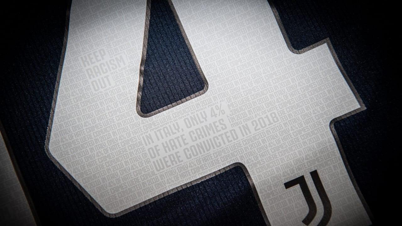 «Ювентус» сыграет в форме, на которую нанесена связанная с расизмом статистика