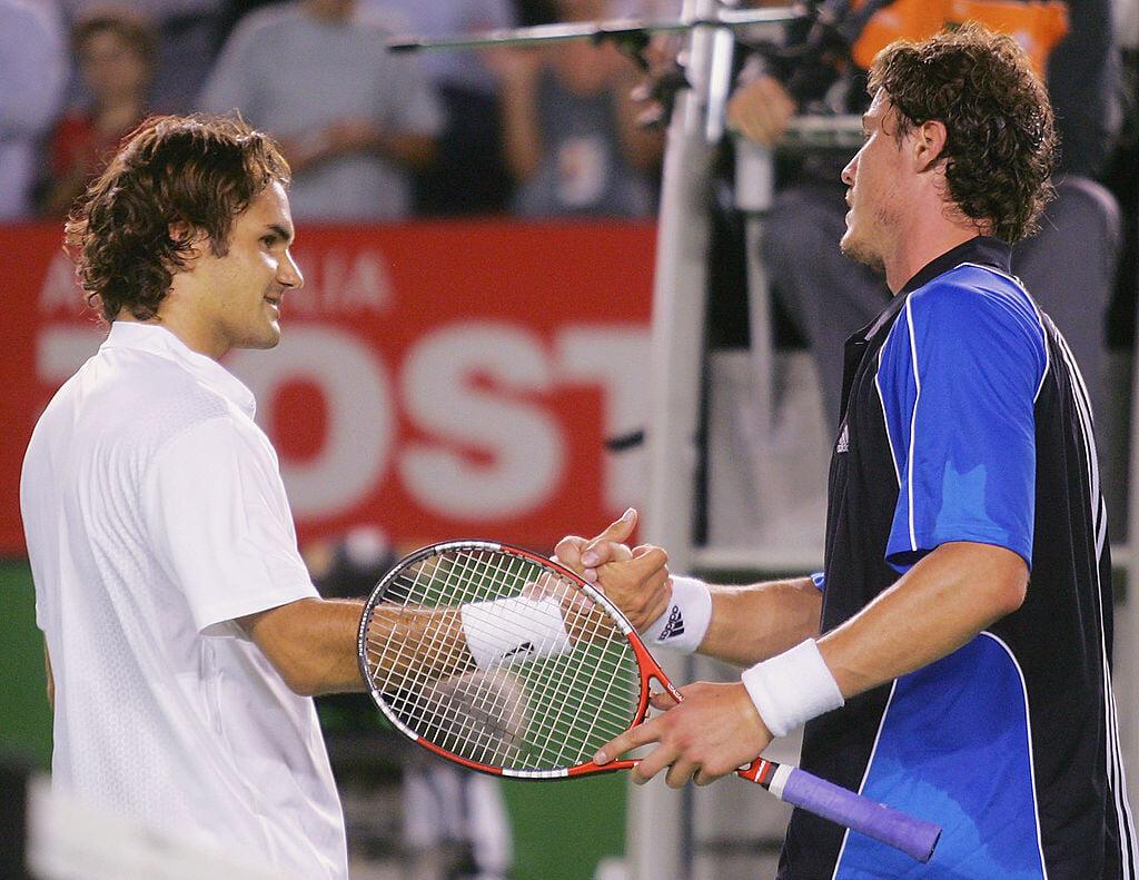 Сафин о Федерере: «Роджелио – последний из нашего поколения! Продолжай надирать задницы! Уважение, братуха»