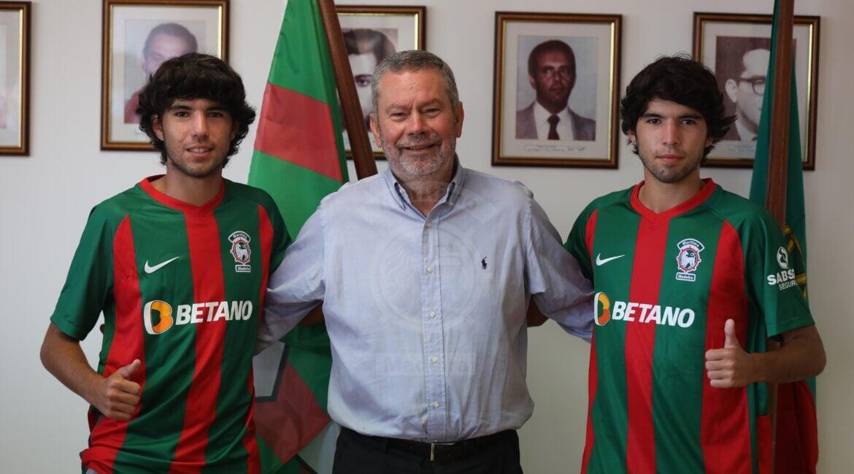 17-летние сыновья Данни подписали контракты с «Маритиму»