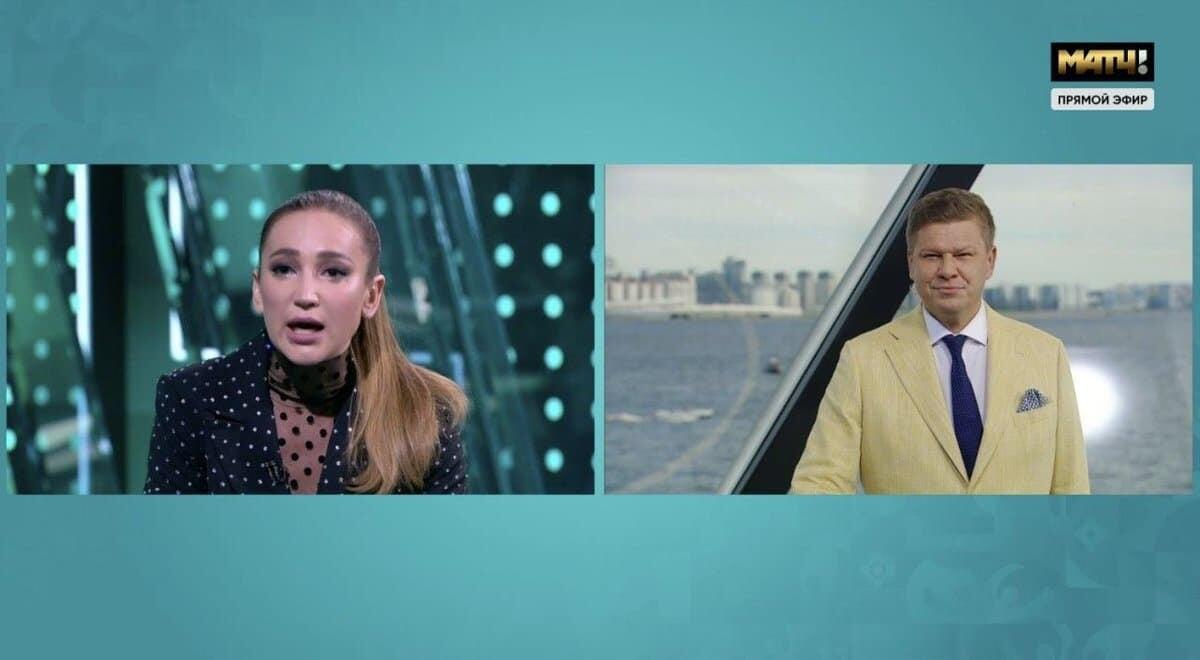 Бузова – Губерниеву: «Вы для меня дно, а не мужчина». Комментатор довел девушку до слез в эфире «Матч ТВ»