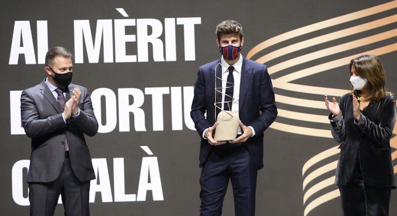 Пике получил приз за пропаганду спорта в Каталонии: «Быть каталонцем – привелегия. Я осознал это после 4 лет в Манчестере»