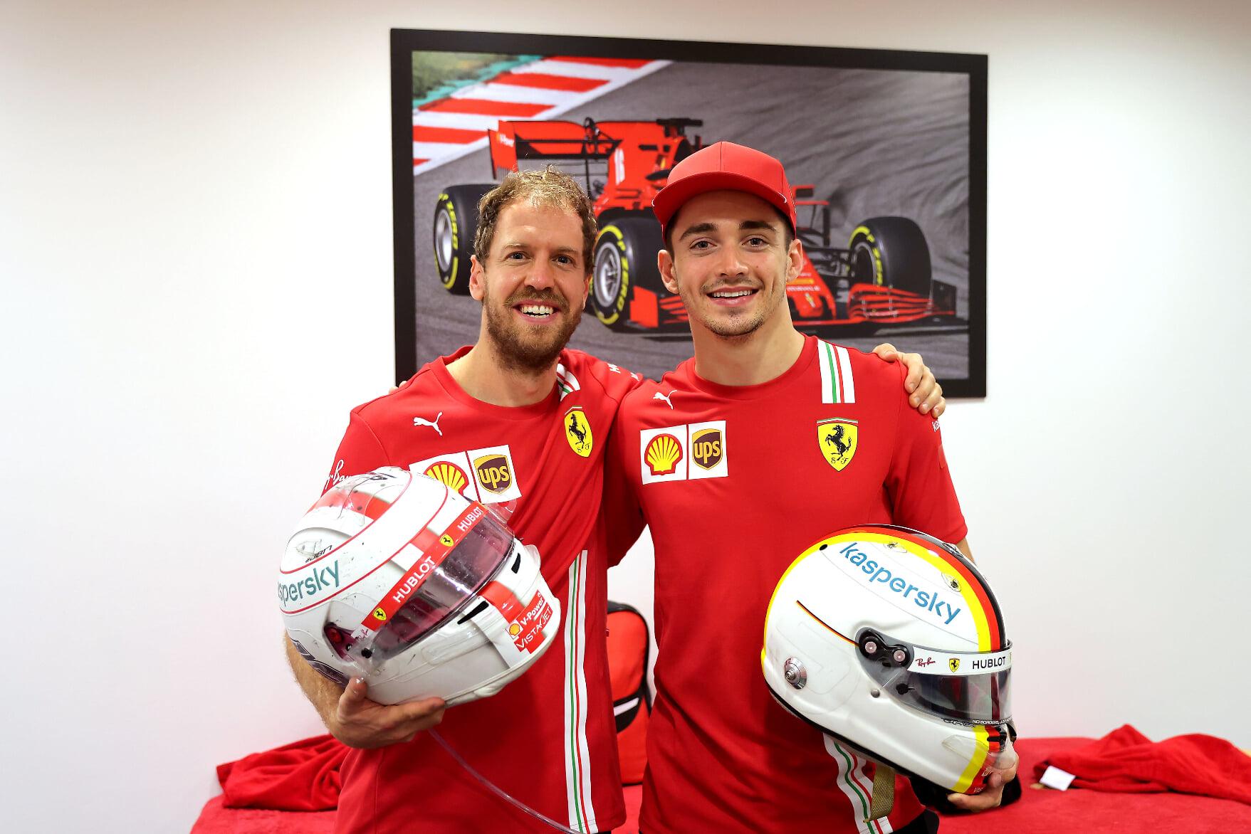 Феттель попрощался с Леклером: «Ты самый талантливый гонщик, с которым я пересекался за эти 15 лет в «Ф-1»