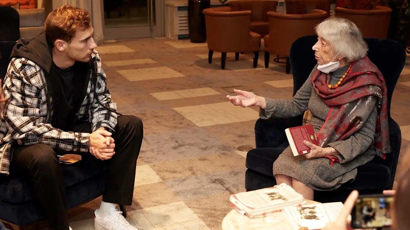 Горетцка встретился с 99-летней женщиной, пережившей Холокост: «Всю жизнь буду помнить этот разговор»