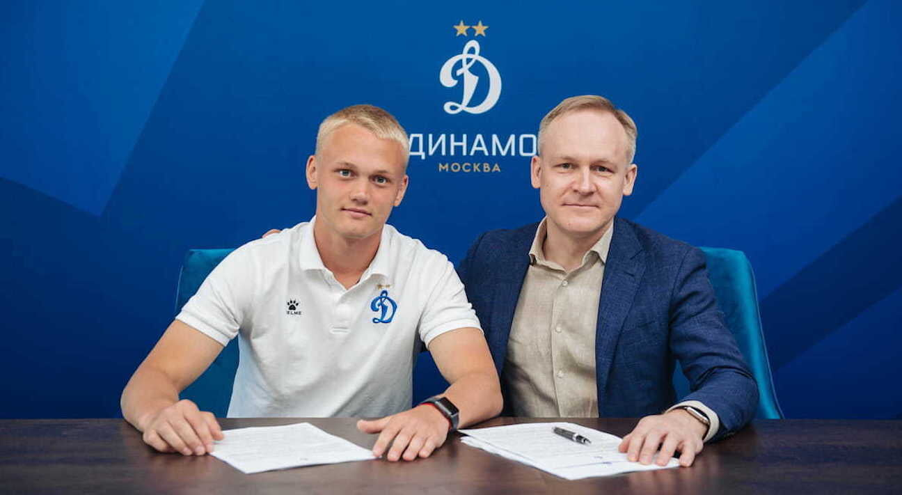 Тюкавин продлил контракт с «Динамо» по схеме «3+1»