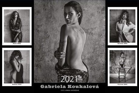 Габриэла Коукалова снялась в фотосессии для журнала Playboy