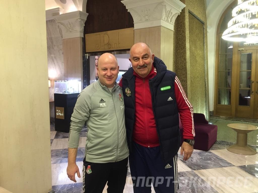 Черчесов встретился с Николичем. Тренеры провели длинную беседу