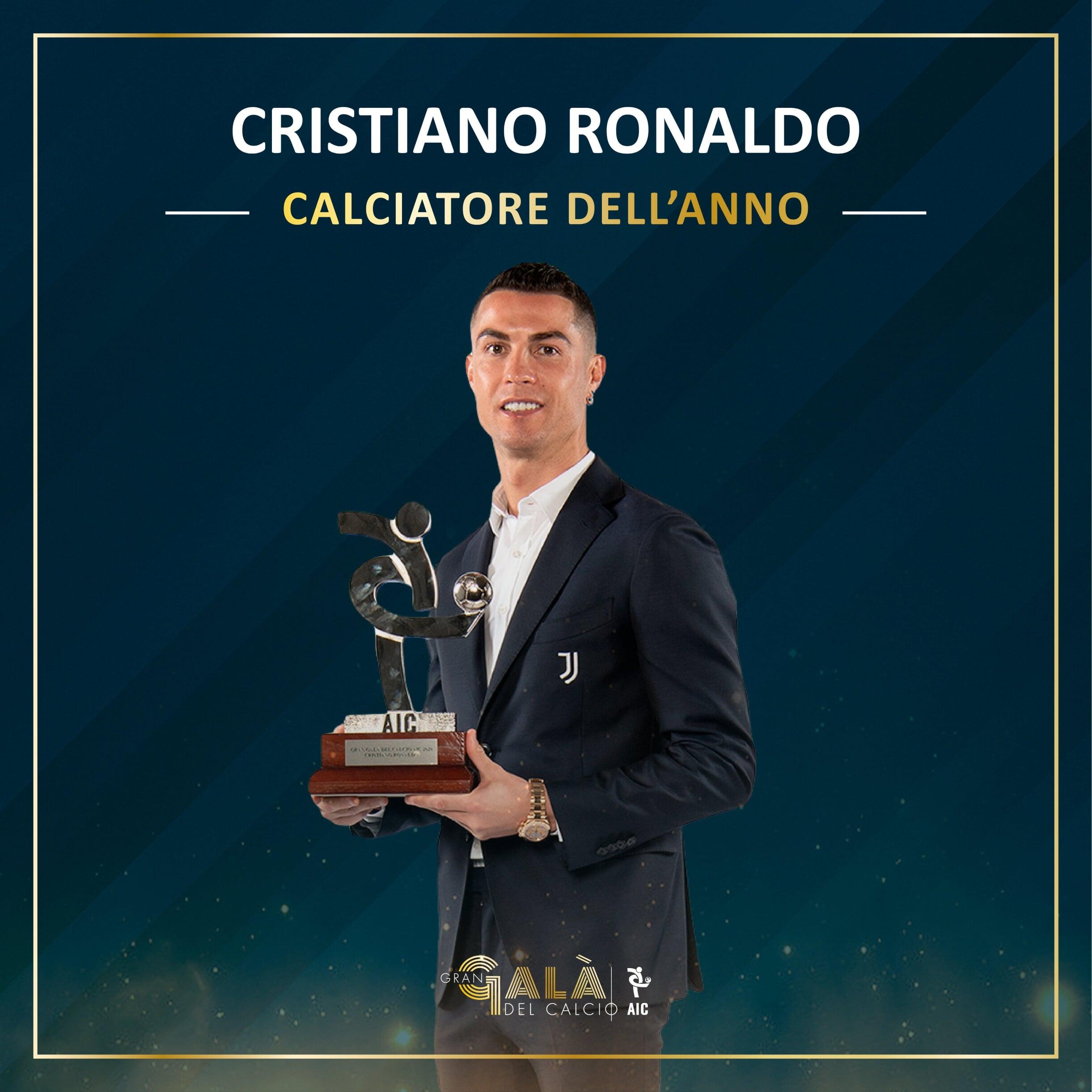 Роналду – лучший игрок Серии А-2019/20 по версии Итальянской ассоциации футболистов