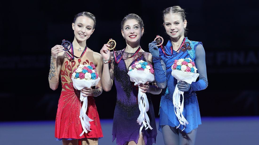 Щербакова, Трусова, Косторная и другие россиянки получили стартовые номера в короткой программе на Гран-при России