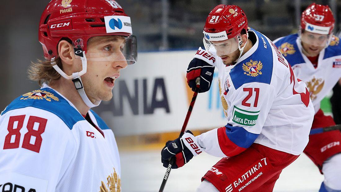 У сборной России - большие проблемы. Перед стартом ЧМ у команды одна креативная тройка, но и в ней нет звезд НХЛ