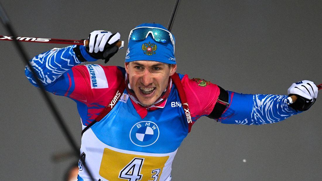 Лучший день в карьере биатлониста Латыпова: он 11-й на Кубке мира. Весь подиум в спринте норвежский - Й.Бе выиграл
