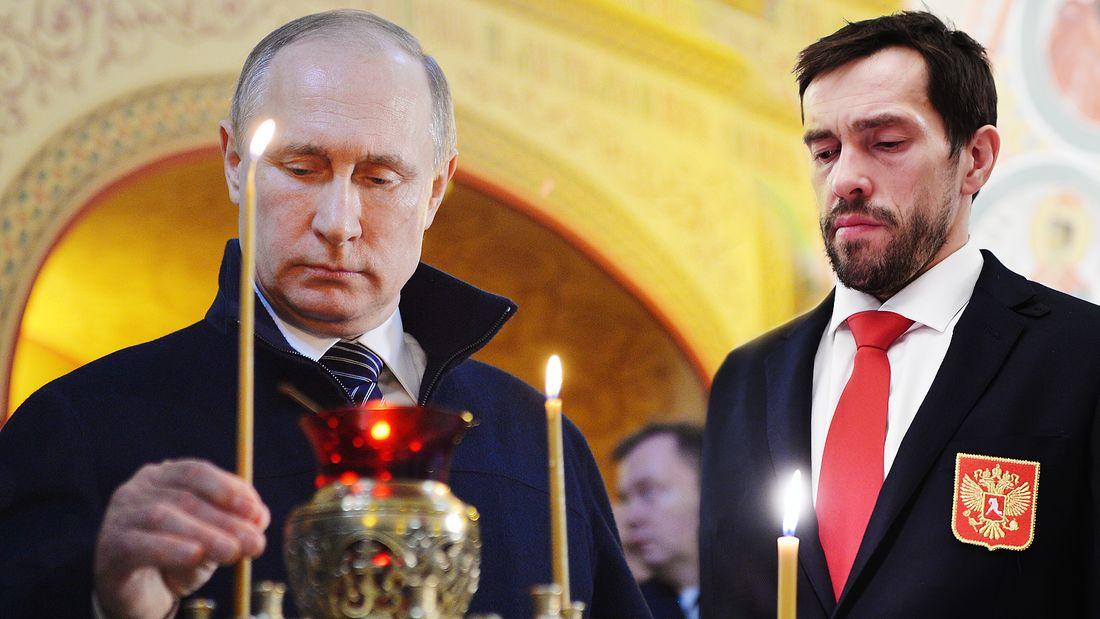 Дацюк просит Путина освободить своего духовника. Олимпийский чемпион вступается за сектанта, а мог помочь России