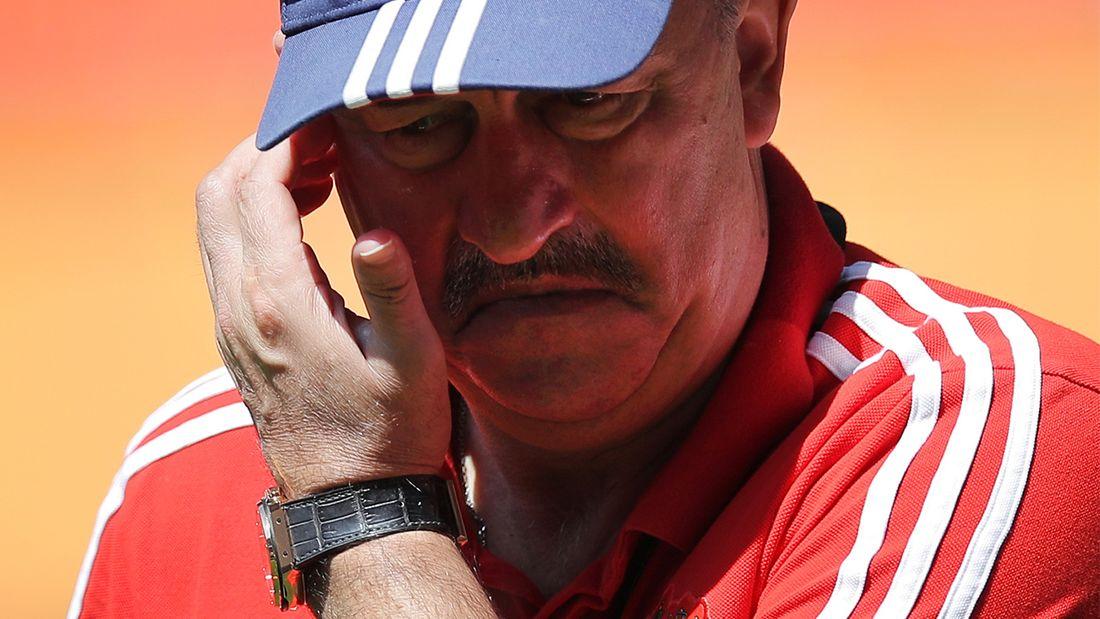 Черчесов прокомментировал неудачное выступление российских клубов в еврокубках - ни одной победы в 16 матчах