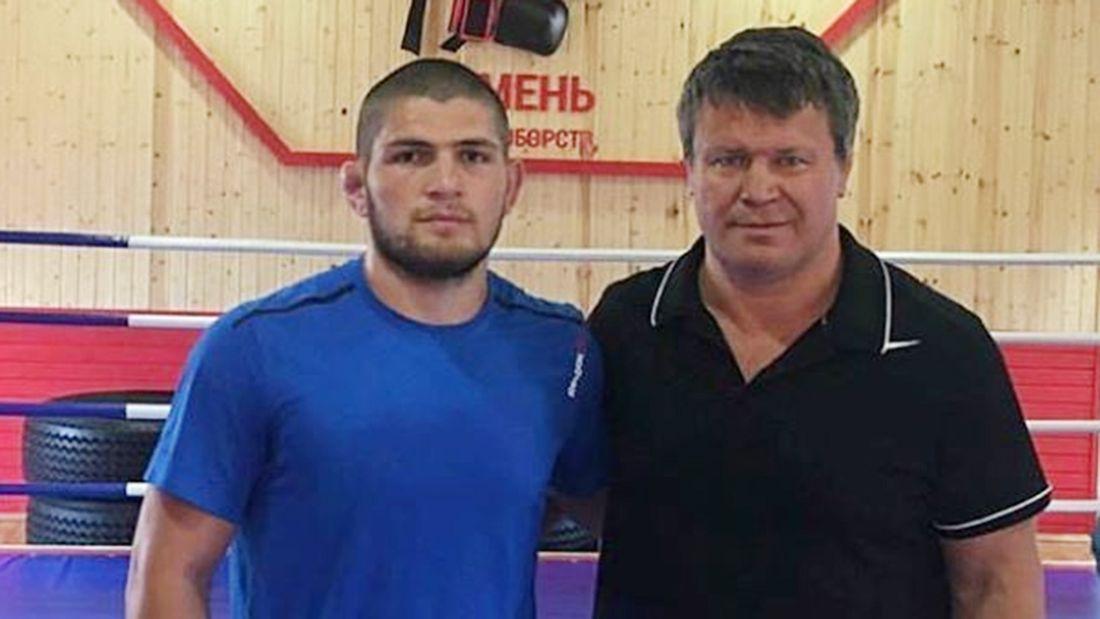 'Хабиб все сделал, как я ему сказал'. Тактаров рассказал о знаковой встрече с молодым Нурмагомедовым