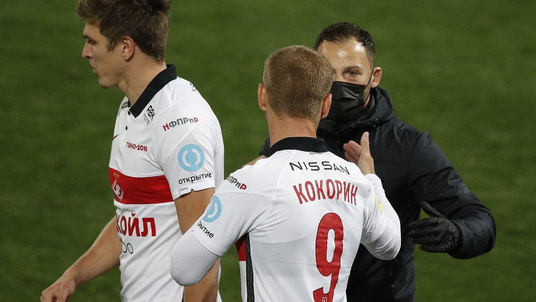 Тедеско заступился за Кокорина перед матчем «Спартак» — «Динамо»