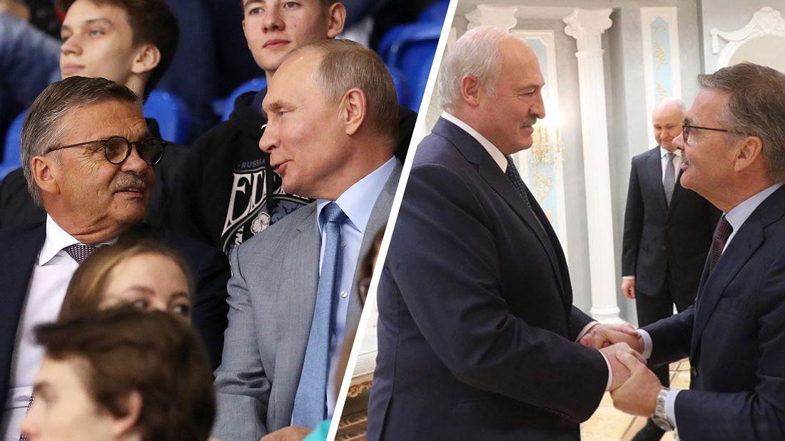 «Я – друг русских! Заслуги Путина перед Россией огромны». Честное интервью президента ИИХФ Фазеля